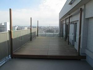 タープ バルコニー バルコニー屋根・ベランダ屋根の柱固定方法