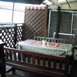千葉県松戸市・田中様(2階建てウッドテラスを施工)